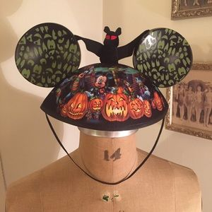 Disney Mickey Halloween Ears Disneyworld like New